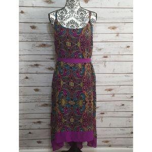 Lane Bryant Multi colored High Low Dress